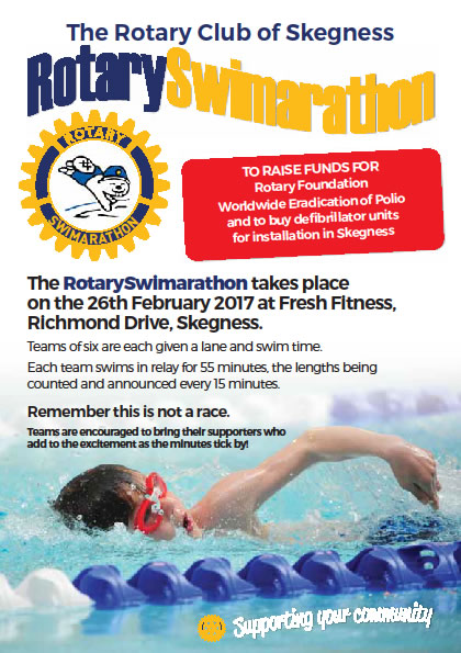 The Rotary Swimarathon 2017