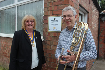 The Rotary Club of Skegness are proud to have been able to support the Skegness Silver Band