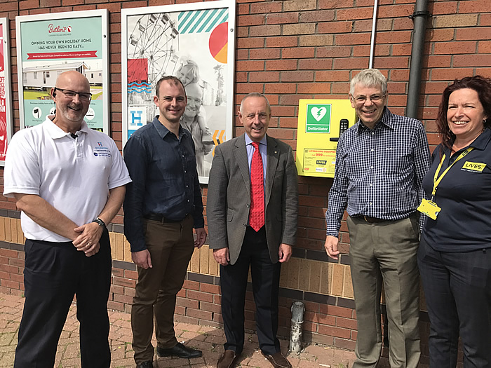 Defibrillators for Skegness