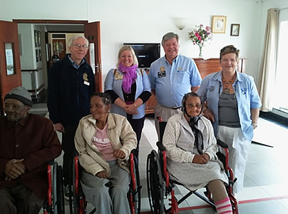wheelchairs to Africa